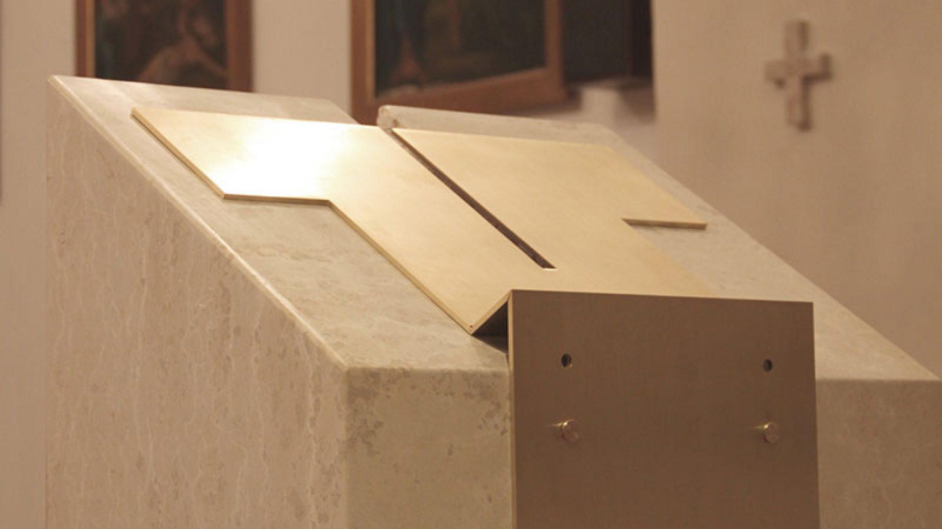Adeguamento liturgico di Sant'Antonio Abate di Draga Studio P&C - CM Associati