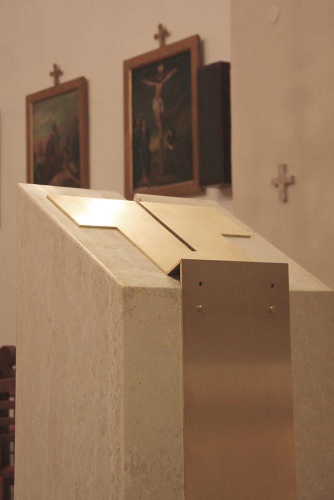 Adeguamento liturgico di Sant'Antonio Abate di Draga