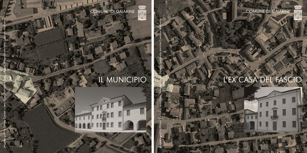 Locandina Inaugurazione edifici storici Gaiarine