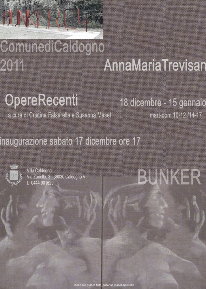"Locandina Mostra ""Anna Maria Trevisan"""