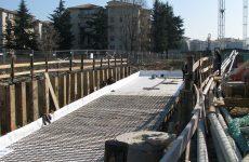 Rotatoria in viale della Repubblica Treviso