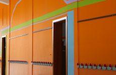 Studio del colore in edifici scolastici