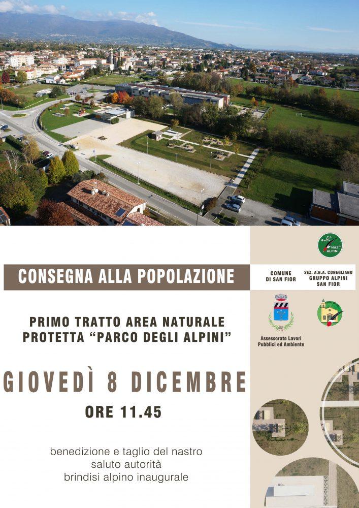 Locandina Parco degli Alpini - Area pic-nic