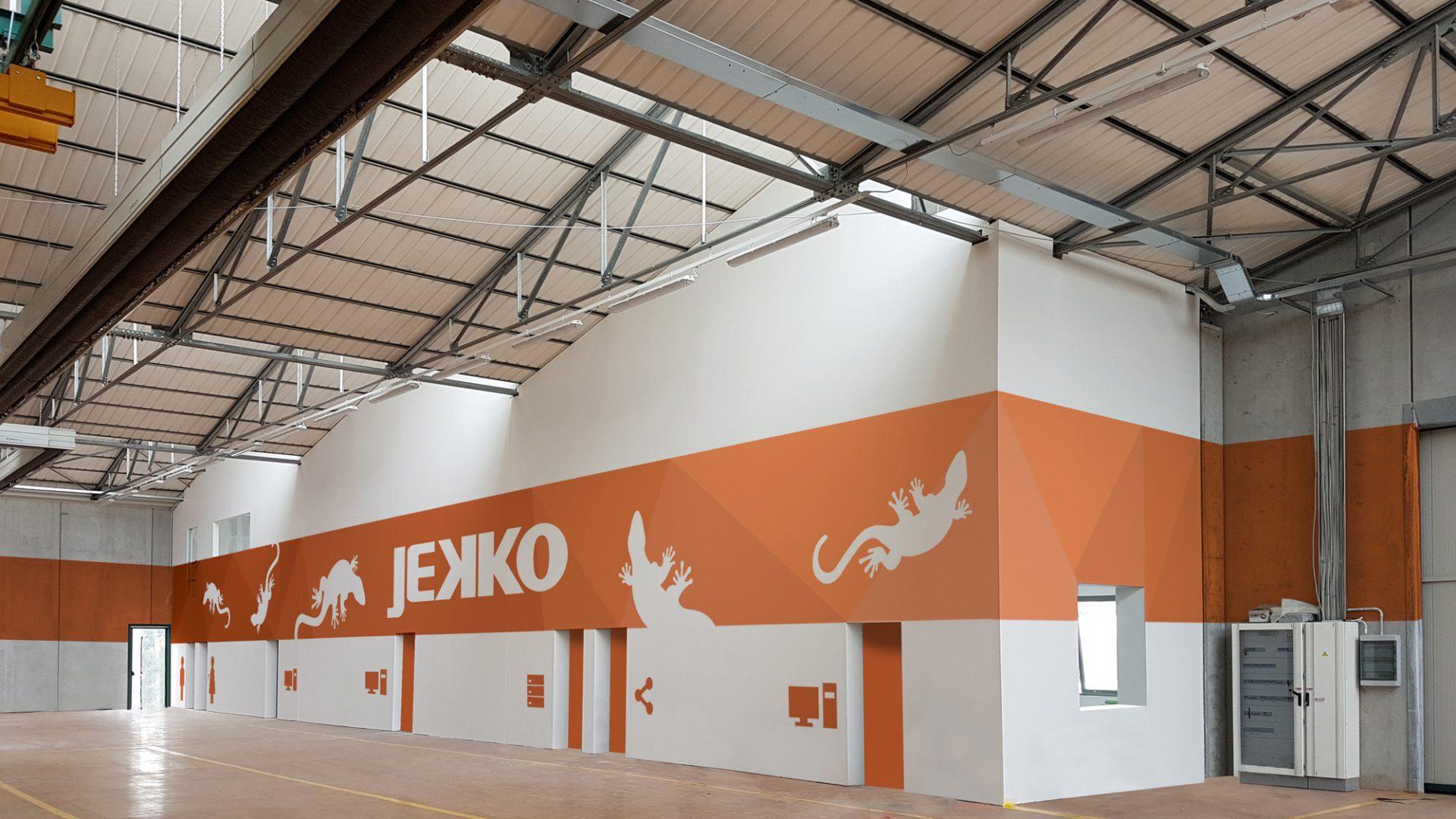 Ristrutturazione fabbricato produttivo – Jekko s.r.l. Studio P&C - CM Associati
