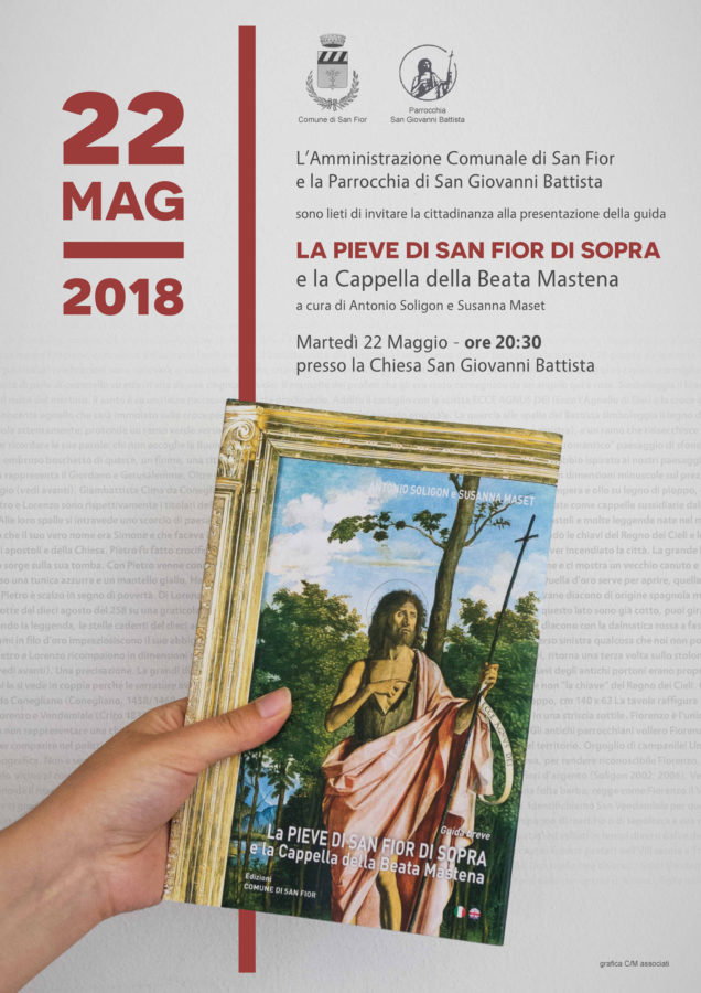 """Locandina """"La Pieve di San Fior di Sopra e la Cappella della Beata Mastena"""""""